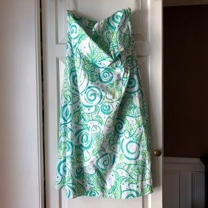 EUC * Lilly Pulitzer Strapless Dress